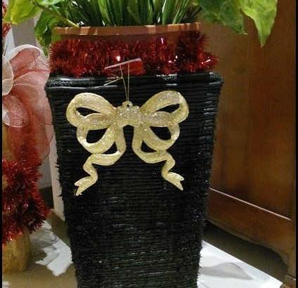 Vaso porta fiori restaurato
