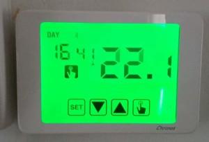 Crono termostato