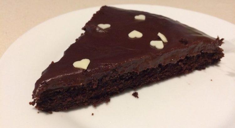 Torta al cioccolato senza lievito burro e uova
