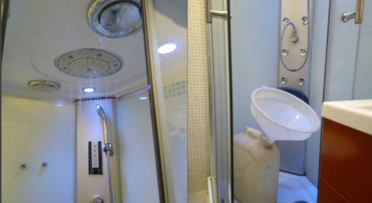 Quanta acqua si consuma per una doccia