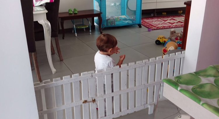 Cancelletto di sicurezza bambini