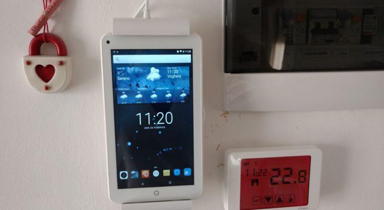 come comandare gli elettrodomestici di casa con un tablet