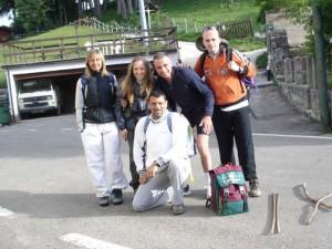 Max, Ghery, Filippo, Nadia, Manuela