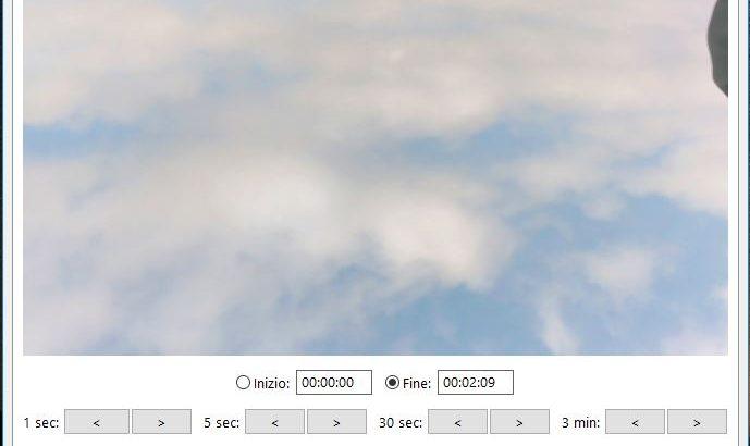 dividere in più parti un file video di grande dimensione