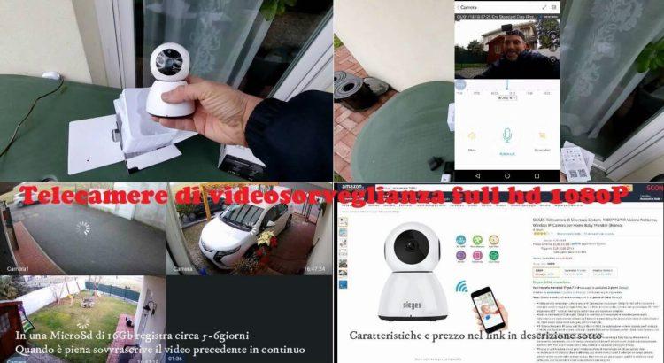 Telecamera di videosorveglianza full hd 1080P