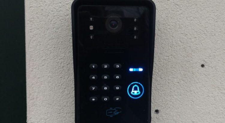 videocitofono wireless con apriporta