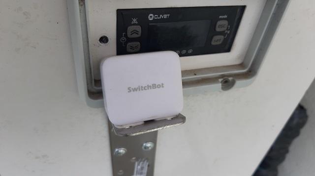 SwitchBot installato
